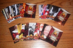 Santa Claus Hall of Fame Trading Card Set