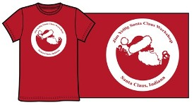 Santa Claus Workshop T-Shirt - Red