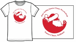 Santa Claus Workshop T-Shirt - White