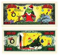 Million Dollar Bills - Grinch