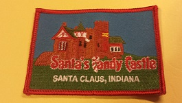Santa's Candy Castle Patch
