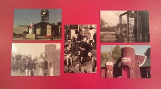 Santa Claus Indiana Postcard Set